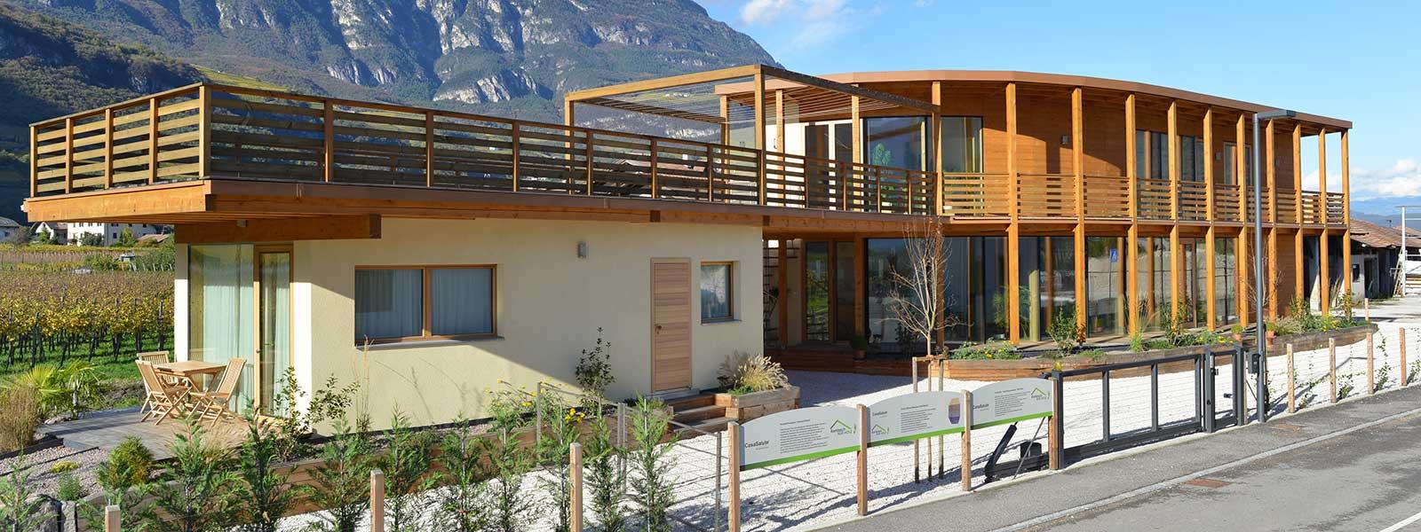 case in legno massiccio casa salute